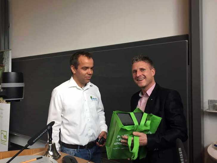 Mark Pommnitz und Thorsten Perlich