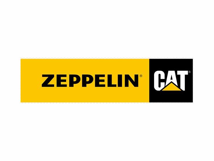 Caterpillar und Zeppelin Logo